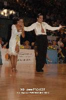 Andrea Silvestri & Martina Váradi at Marseille IDSF Open and European Latin Championship