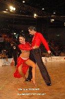 Andrea Silvestri & Martina Váradi at IDSF European Latin Championship 2009