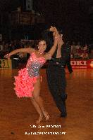 Andrea Silvestri & Martina Váradi at 23. German Open Championships