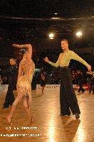 Niels Didden & Gwyneth Van Rijn at IDSF European Latin Championship 2009