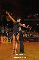 Joel Lopez & Rosa Carné at 23. German Open Championships