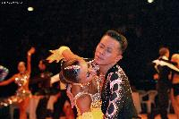 Alex Hou & Melody Hou at WDDSC World Professional Latin Championships 2005