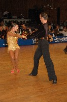 Joel Gonzalez &amp; Ariadna Gil at 48. Goldstadtpokal