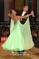 Luca Rossignoli & Veronika Haller at Austrian Open Championships 2011