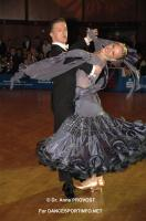 Anton Skuratov & Alona Uehlin at Goldstadtpokal 2011