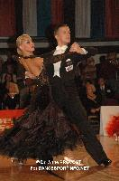 Anton Skuratov & Alona Uehlin at Austrian Open 2011