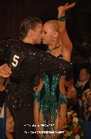Anton Skuratov & Alona Uehlin at German Amateur Latin Championship 2008