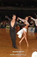 Denys Drozdyuk & Antonina Skobina at 23. German Open Championships