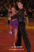 Evgeni Smagin & Polina Kazatchenko at 23. German Open Championships