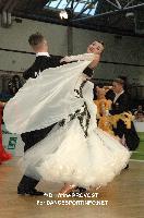 Sergei Konovaltsev & Olga Konovaltseva at 2012 WDSF EUROPEAN DanceSport Championships Standard