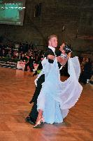 Sergei Konovaltsev & Olga Konovaltseva at German Open 2005