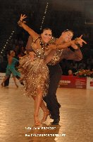 Ben Hardwick & Lucy Jones at IDSF European Latin Championship 2009