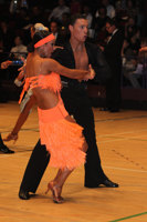 Daniel Juvet & Zuzana Sykorova at The International Championships