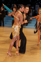 Daniel Juvet & Zuzana Sykorova at UK Open 2009