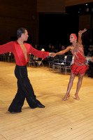 Daniel Juvet &amp; Zuzana Sykorova at UK Open 2009