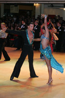 Daniel Juvet & Zuzana Sykorova at Blackpool Dance Festival 2009