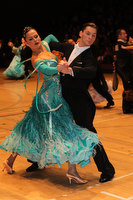 Dusan Dragovic & Ekaterina Romashkina at The International Championships