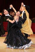 Dusan Dragovic & Ekaterina Romashkina at Blackpool Dance Festival 2009