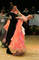 Dusan Dragovic & Ekaterina Romashkina at International Championships 2009