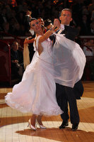 Domen Krapez &amp; Monica Nigro at International Championships 2011