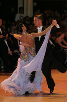 Domen Krapez & Monica Nigro at Blackpool Dance Festival 2009