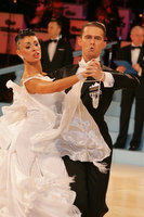 Domen Krapez & Monica Nigro at UK Open 2010