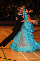 Stanislav Wakeham & Laura Nolan at The International Championships