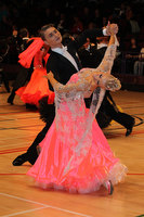 Stanislav Wakeham & Laura Nolan at International Championships 2011