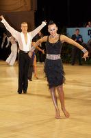 Anton Sboev & Patrizia Ranis at UK Open 2009