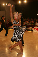 Jurij Batagelj & Jagoda Batagelj at 8th Kistelek Open
