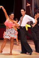 Ramon Renting & Charlotte Stella at Blackpool Dance Festival 2009