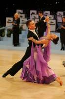Alex Sindila & Katie Gleeson at UK Open 2008