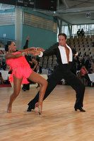 Massimo Arcolin & Lyubov Mushtuk at World Amateur Latin Championships