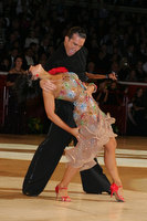 Andrej Skufca & Melinda Torokgyorgy at The International Championships
