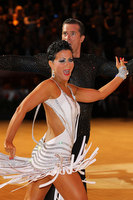 Andrej Skufca & Melinda Torokgyorgy at International Championships 2011