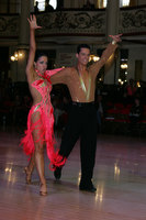 Ron Garber &amp; Ashley Goldman at Blackpool Dance Festival