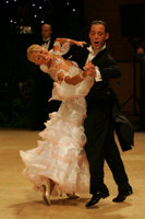 Alessio Potenziani & Veronika Vlasova at UK Open 2008