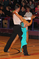 Sergey Kravchenko & Lauren Oakley at International Championships 2011