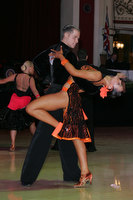 James Cutler & Courtney Taylor at Blackpool Dance Festival