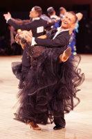 Andrzej Sadecki & Karina Nawrot at UK Open 2008