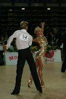 Peter Stokkebroe & Kristina Stokkebroe at Savaria 2006