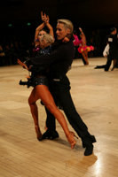 Peter Stokkebroe & Kristina Stokkebroe at UK Open 2008