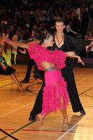 Mykyta Serdyuk & Anna Krasnishapka at International Championships 2011
