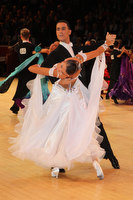 Marco Lustri &amp; Alessia Radicchio at International Championships 2011