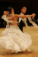 Marco Lustri &amp; Alessia Radicchio at UK Open 2008