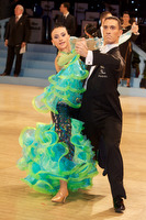 Marco Lustri & Alessia Radicchio at UK Open 2009