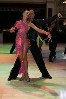 Andrius Kandelis &amp; Elena Zverevshchikova at Blackpool Dance Festival