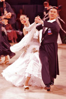 Victor Fung &amp; Anna Mikhed at UK Open 2008