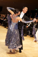 Victor Fung & Anna Mikhed at UK Open 2009