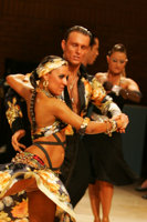Dmytro Wloch & Olga Urumova at UK Open 2008